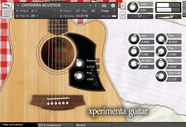 XPERIMENTA Acoustic Guitar