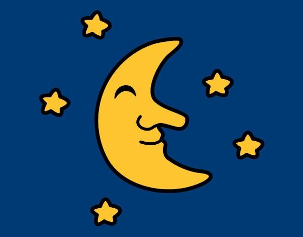 luna-con-stelle-natura-meteorologia-dipinto-da-love1d-1060448